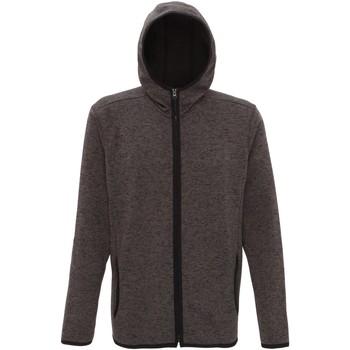 Textiel Heren Fleece Tridri TR071 Houtskool/Zwarte Vlek