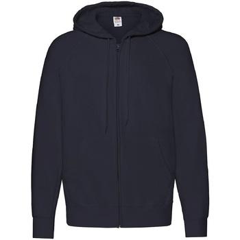 Textiel Heren Sweaters / Sweatshirts Fruit Of The Loom 62144 Donker Marine