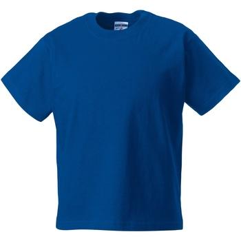 Textiel Kinderen T-shirts korte mouwen Jerzees Schoolgear ZT180B Helder Koninklijk