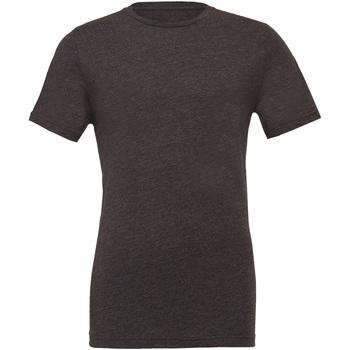 Textiel Heren T-shirts korte mouwen Bella + Canvas CA3001 Donker Heather