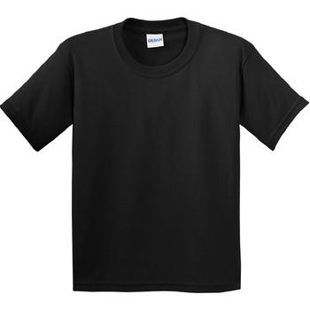 Textiel Kinderen T-shirts korte mouwen Gildan 64000B Zwart