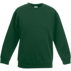 Textiel Kinderen Sweaters / Sweatshirts Fruit Of The Loom 62031 Bottle Groen