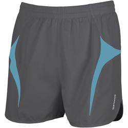 Textiel Heren Korte broeken / Bermuda's Spiro S183X Grijs/Aqua