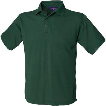 Textiel Heren Polo's korte mouwen Henbury HB400 Fles groen