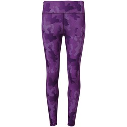 Textiel Dames Leggings Tridri TR032 Camo Paars