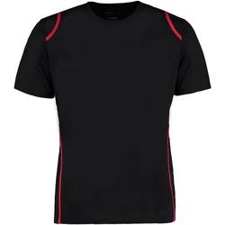 Textiel Heren T-shirts korte mouwen Gamegear Cooltex Zwart/Rood