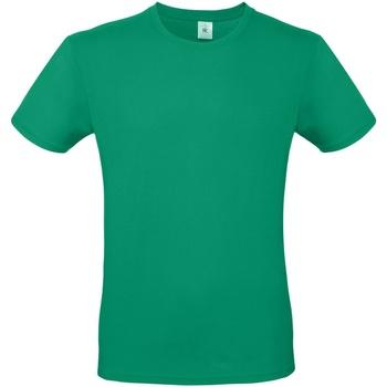 Textiel Heren T-shirts korte mouwen B And C TU01T Kelly Groen