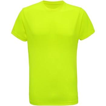 Textiel Heren T-shirts korte mouwen Tridri TR010 Bliksem geel