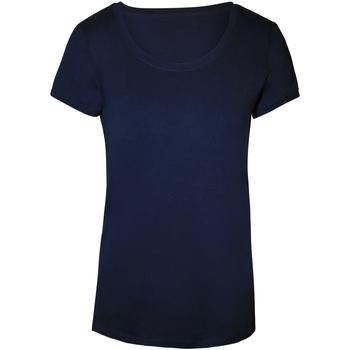 Textiel Dames T-shirts korte mouwen Stedman Stars  Jachthaven Blauw