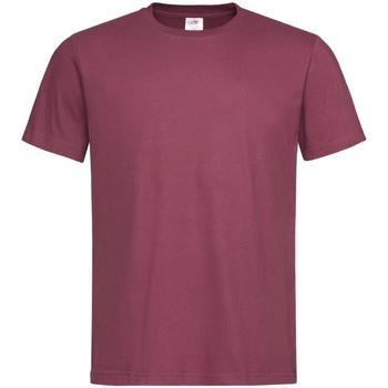Textiel Heren T-shirts korte mouwen Stedman  Bordeaux Rood