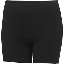 Textiel Dames Korte broeken / Bermuda's Awdis JC088 Jet Zwart