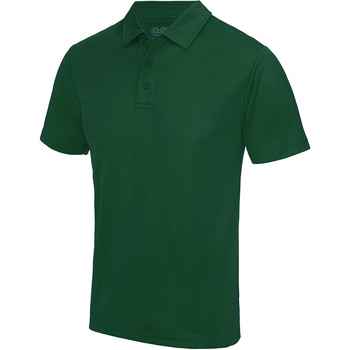 Textiel Heren Polo's korte mouwen Awdis JC040 Fles groen