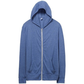 Textiel Heren Sweaters / Sweatshirts Alternative Apparel AT002 Eco Pacific Blue