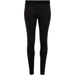 Textiel Heren Leggings Tridri TR017 Zwarte Camo