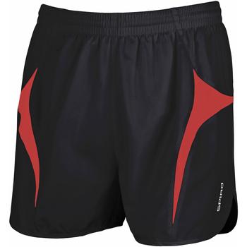 Textiel Heren Korte broeken / Bermuda's Spiro S183X Zwart/Rood