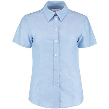 Textiel Dames Overhemden Kustom Kit KK360 Lichtblauw