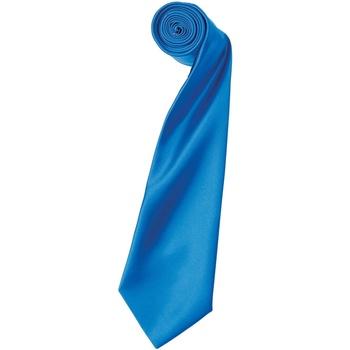 Textiel Heren Stropdassen en accessoires Premier PR750 Saffier