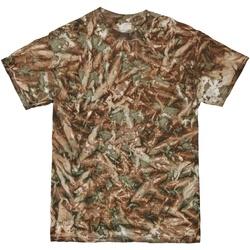 Textiel Heren T-shirts korte mouwen Colortone TD08M Camo