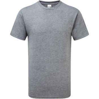 Textiel Heren T-shirts korte mouwen Gildan H000 Grafiet Heide