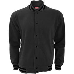 Textiel Heren Wind jackets Fdm FV003 Houtskool/zwart