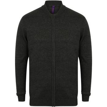 Textiel Vesten / Cardigans Henbury HB718 Grijze Mergel