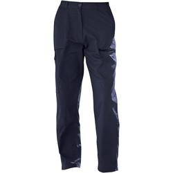 Textiel Dames Cargobroek Regatta TRJ334S Marineblauw