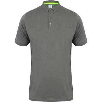 Textiel Heren Polo's korte mouwen Tombo TL565 Grijze mergel/grijs