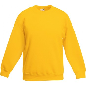 Textiel Kinderen Sweaters / Sweatshirts Fruit Of The Loom SS801 Zonnebloem Geel