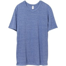 Textiel Heren T-shirts korte mouwen Alternative Apparel AT001 Eco Pacific Blue