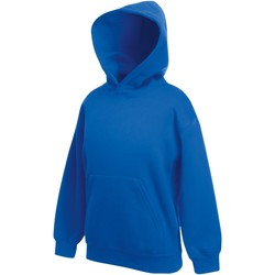 Textiel Kinderen Sweaters / Sweatshirts Fruit Of The Loom SS873 Royaal Blauw