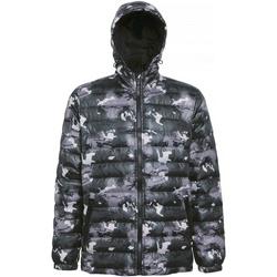 Textiel Heren Dons gevoerde jassen 2786 TS016 Camo Groen
