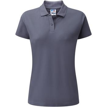 Textiel Dames Polo's korte mouwen Jerzees Colours 539F Konvooi Grijs