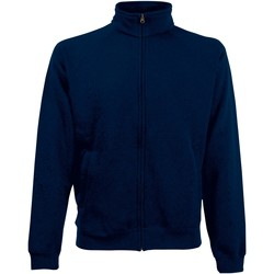 Textiel Heren Sweaters / Sweatshirts Fruit Of The Loom SS830 Donker Marine