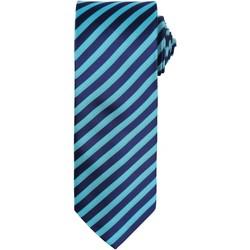 Textiel Heren Stropdassen en accessoires Premier PR782 Turquoise/Marine