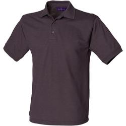 Textiel Heren Polo's korte mouwen Henbury HB400 Donkergrijs