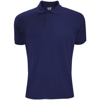 Textiel Heren Polo's korte mouwen Sg Polycotton Marineblauw