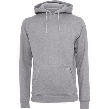 Textiel Heren Sweaters / Sweatshirts Build Your Brand BY011 Heide Grijs