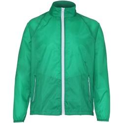 Textiel Heren Windjack 2786 TS011 Kelly/Wit