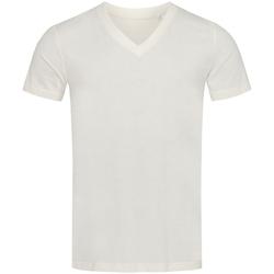 Textiel Heren T-shirts korte mouwen Stedman Stars  Wit/Wit
