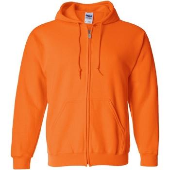 Textiel Heren Sweaters / Sweatshirts Gildan 18600 Veiligheid Oranje