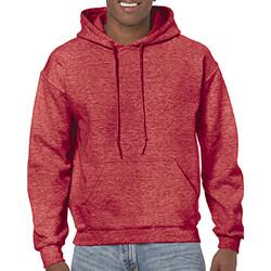 Textiel Heren Sweaters / Sweatshirts Gildan 18500 Heide Sport Scarlet Rood