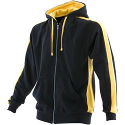 Textiel Heren Sweaters / Sweatshirts Finden & Hales LV330 Zwart/Geel