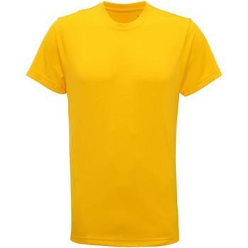 Textiel Heren T-shirts korte mouwen Tridri TR010 Zonnegeel