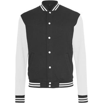 Textiel Heren Wind jackets Build Your Brand BY015 Zwart/Wit