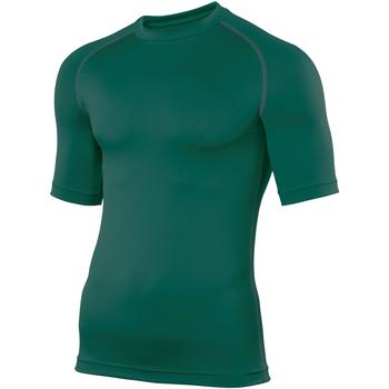 Textiel Heren T-shirts korte mouwen Rhino RH002 Fles groen