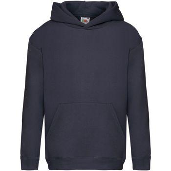 Textiel Kinderen Sweaters / Sweatshirts Fruit Of The Loom SS873 Donker Marine