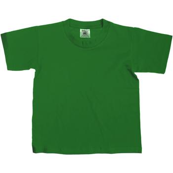 Textiel Kinderen T-shirts korte mouwen B And C Exact Fles groen