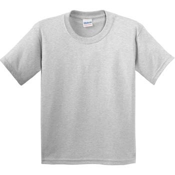Textiel Kinderen T-shirts korte mouwen Gildan 5000B Asgrijs