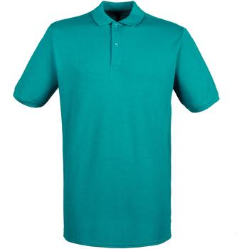 Textiel Heren Polo's korte mouwen Henbury HB101 Heldere Jade