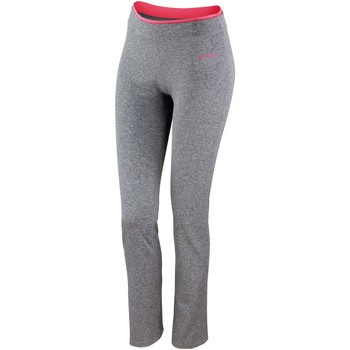 Textiel Dames Leggings Spiro S275F Sportgrijs mergel/heet koraal